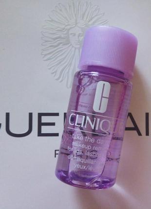 Clinique take the day off средство для снятия стойкого макияжа