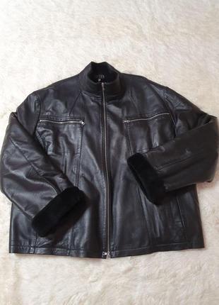 Мужская куртка-дубленка. зима
