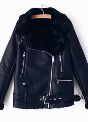 Женская зимняя куртка,женская дубленка1 фото