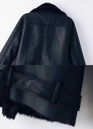Женская зимняя куртка,женская дубленка2 фото