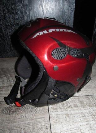 Горнолыжный шлем alpina р.54-57см