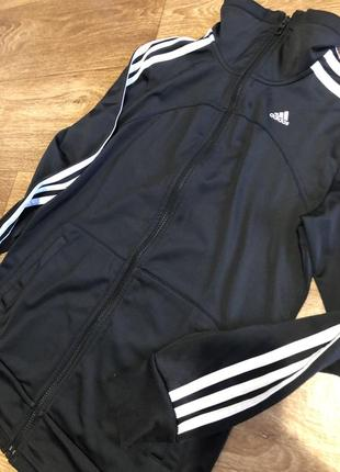 Спортивная курточка олимпийка adidas оригинал, размер s