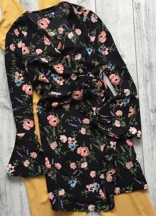 Плаття платье на запах6 фото