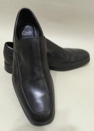 Мужские туфли clarks кожа р.42.5-43, новые, оригинал