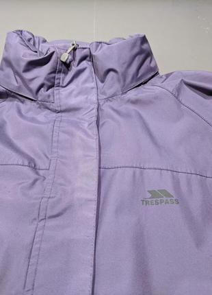Trespass, куртка, ветровка. водозащита. для дождя или бега (сушки) плотная ткань
