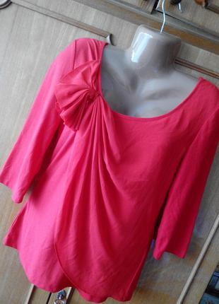 Футболка блуза с шифоном vero moda размер l