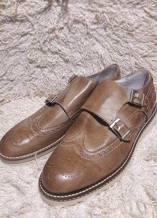 Итальянские мужские туфли размер 41новые