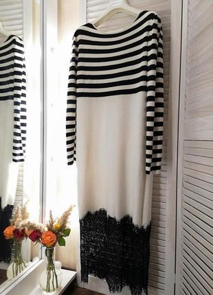 Платье миди теплое италия