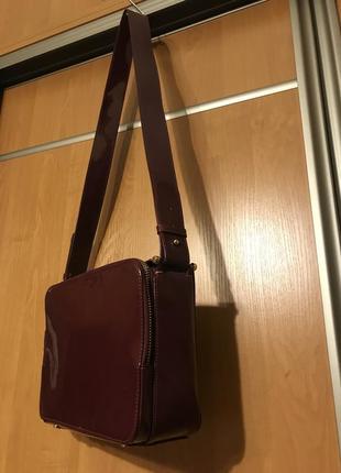 Американская лаковая сумка/silence+noise8 фото