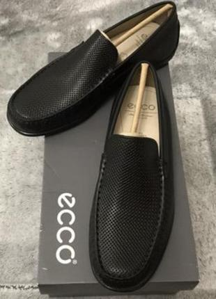 Туфлі чоловічі ecco classik moc 2.0 оригінал.