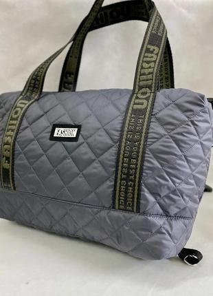 Женская вместительная сумка, практичная сумка из плотной болоньи, цвета!