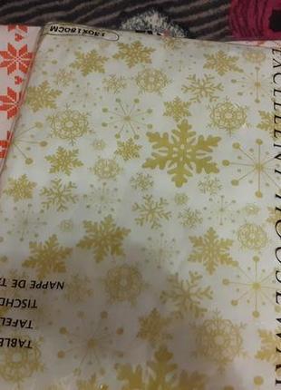 Новогодняя праздничная скатерть.распродажа