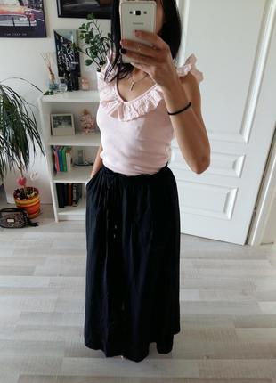 Макси юбка h&m
