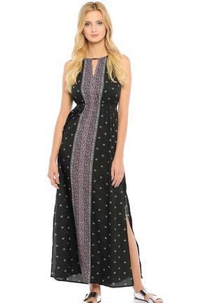 Шикароное легкое платье летний сарафан длинное в пол макси
