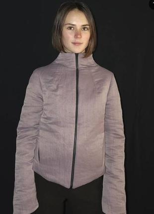 Дизайнерская куртка в стиле yohji yamamoto