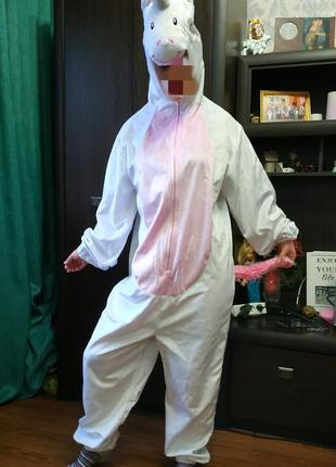 Карнавальный костюм единорога,кигуруми,единорог