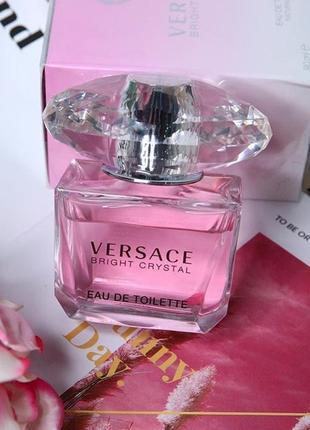 Женские духи на подарочек versace bright crystal новые 90 мл1 фото