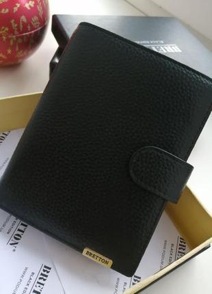 Кожаный мужской кошелёк bretton