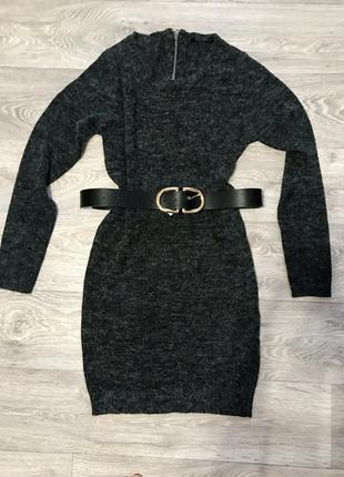 Платье шерстяное тёплое