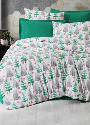 Постельное белье. новогоднее постельное белье. постельное белье с дедом морозом.