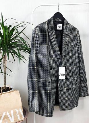 Тренч ,укорочённое пальто zara man4 фото