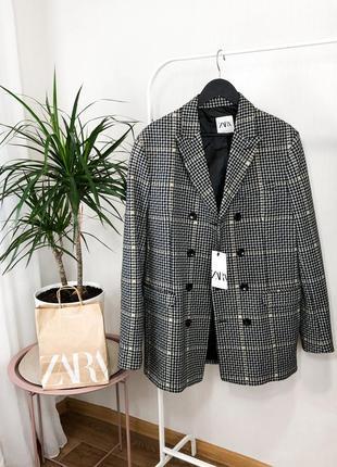Тренч ,укорочённое пальто zara man1 фото
