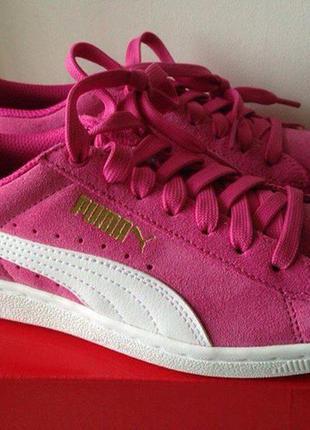 Замшевые кроссовки puma