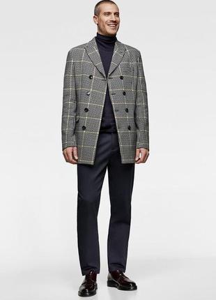 Тренч ,укорочённое пальто zara man9 фото