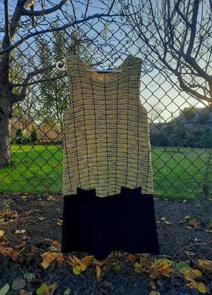 Шерстяное платье twin set