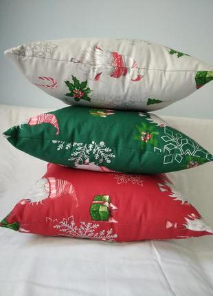 Набір новорічних подушок