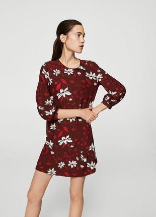 Красивое платье mango xs s