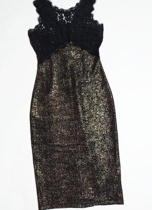 Бронзовое платье  new look размер xs/s