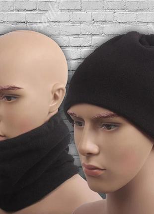 Бафф зимний флисовый  шарф горловик3 фото