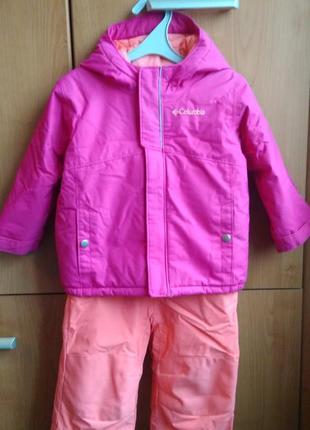 Зимний костюм (куртка+полукомбинезон) columbia buga set (сша).