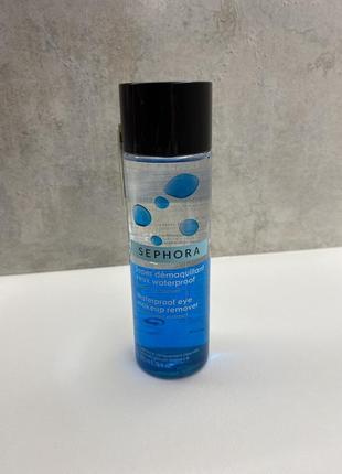 Средство для снятия водостойкого макияжа sephora