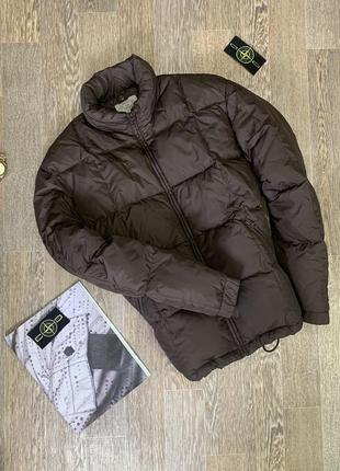 Пуховик armani jeans {the north face, jack wolfskin, stone island,fred perry mammut}