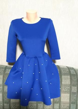 Платье из жемчугом