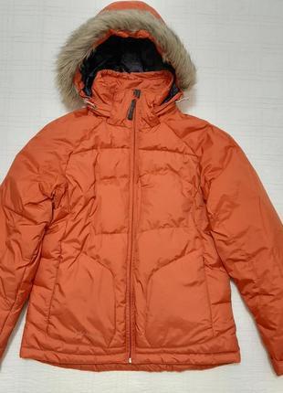 Зимняя куртка пуховик columbia sportswear р.46-48 (м), оригинал, пух !!!