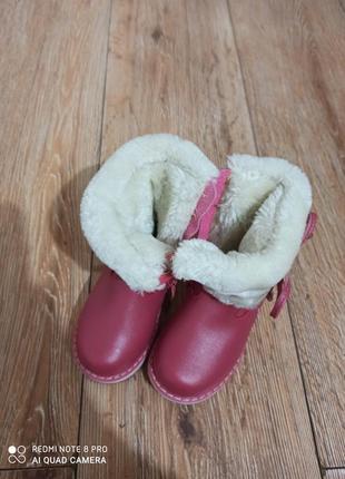 Зимние сапожки на девочку