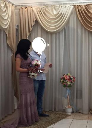 Вечернее платье на выпуск или свадьбу