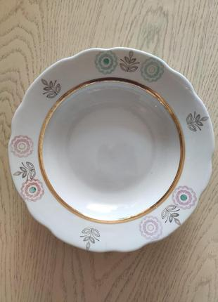 Суповые тарелки, супові тарілки в отличном состоянии, 5 шт.