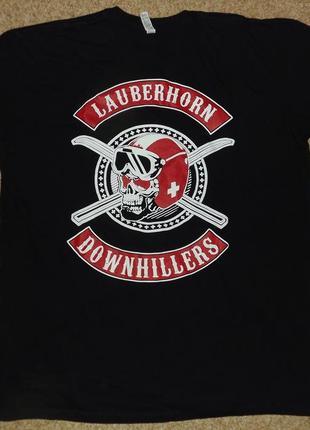 Футболка lauberhorn downhillers