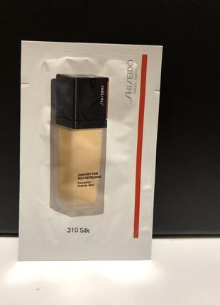 Пробник тональный крем shiseido  synchro skin self-refreshing foundation
