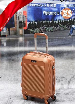 Прочный надежный чемодан fly для путешествий poland