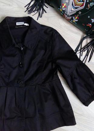 Знизила ціни в шафі до мінімуму!!! стильний піджак, жакет з драпірованим низом і рукавами