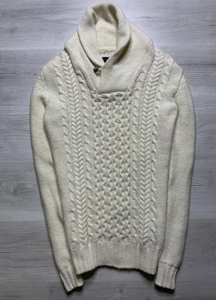 В'язаний чоловічий светр від h&m