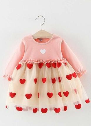 🌿 нарядное платье для девочки