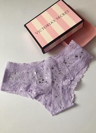 Хлопковые трусики victoria's secret pink