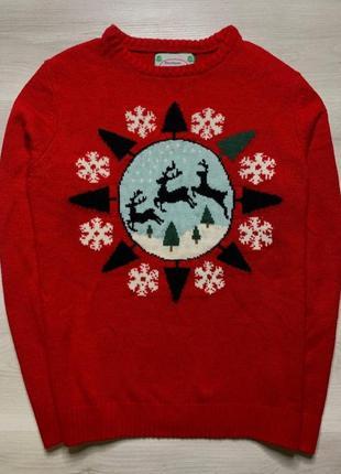 Новорічний светр cedar wood state