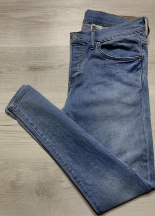 Стрейчеві джинси скінні від h&m skinny